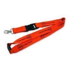 Schlüsselband Polyester, 15 mm in der gewünschten PMS-Farbe, Luxus