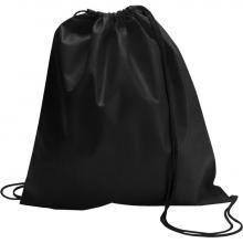 Non woven rugzakje | Goedkoop & Tot 2 kleuren | Standaard kwaliteit | max051 Zwart