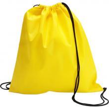 Non woven rugzakje | Goedkoop & Tot 2 kleuren | Standaard kwaliteit | max051 Geel