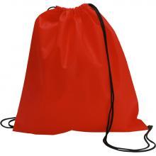 Non woven rugzakje | Goedkoop & Tot 2 kleuren | Standaard kwaliteit | max051 Rood