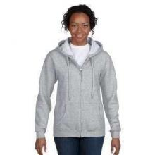 Gildan Full Zip Hood Sweater | Dames