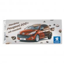 Chocoladereep 50 gram | Melk/Puur | 72505105