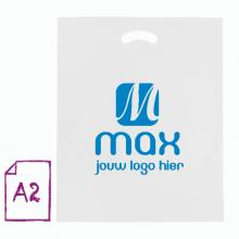 Sac plastique | Blanc | Format XL | 50 microns