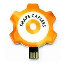 USB in eigen vorm 4GB