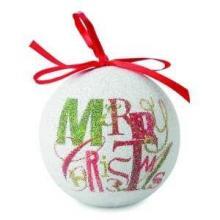 Kerstbal met lintenhanger