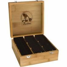 Teebox 9 Fächer | incl. 90 Teebeuteln
