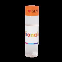 Ronde waterfles | Chap'leau | 500 ml | 72510033 Oranje