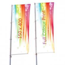 Bannerfahne | 150x400 cm