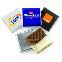 Belgische chocolaatjes vierkant