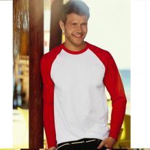 Baseball T-shirt   Lange mouwen