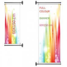 Gevelbanner | Full Colour | 60x150 cm