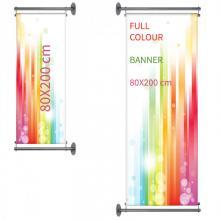 Gevelbanner | Full Colour | 80x200 cm