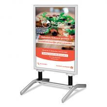 Stoepbord Swingvoet | 84x118,9 cm