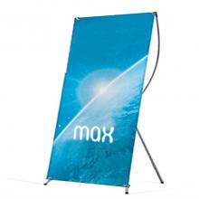 X banner 120 x 200 cm | full colour