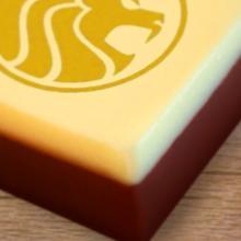 Logochocolaatjes | 25 x 25 mm | Full colour | Per 48 stuks | 7051000