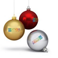 Kerstballen | kunststof | full colour