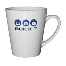 Weiße Tasse | DeltaCup | 350 ml