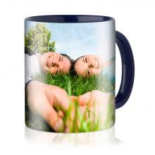 Mug photo côté intérieure coloré | 350ml