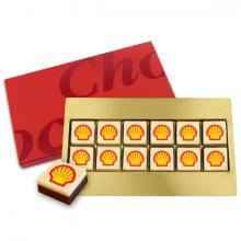 Logo chocolade gift box 12 stuks