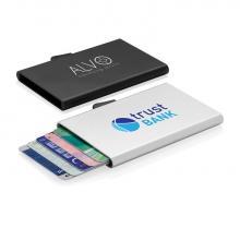 C-Secure RFID kaarthouder   Aluminium   Stevig   8882049