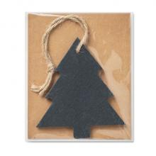 Schiefer Weihnachtsbaum