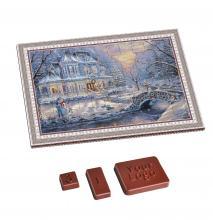 Adventskalenders bedrukken | Vanaf 100 stuks | Eigen logo op chocolade