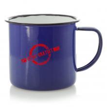 Emaille Tasse | Vintage Design | 350 ml