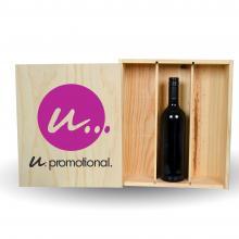 Wijnkist | 3 vaks | PEFC gecertificeerd
