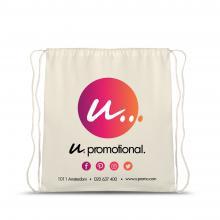 Katoenen rugzakje | Oeko-tex standard 100 | Full Colour | Standaard kwaliteit