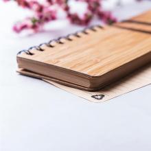 Ringband notitieboekje | Eco | Bamboe | A6 | 156017