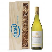 Wit   Chardonnay   Met kist   Eigen etiket   Frankrijk