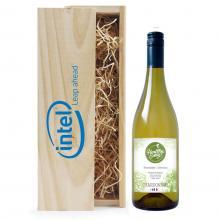 Wit | Chardonnay | Met kist | Eigen etiket | Frankrijk
