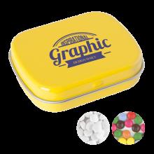 Klein blikje | Mints of chocos | 72501100 Geel
