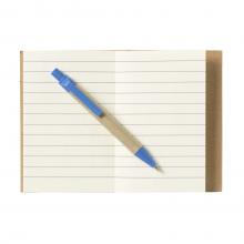 Notitieboekje met pen   A7   Eco   733640