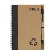 Notitieboekje   A5   Milieuvriendelijk   733642 Zwart