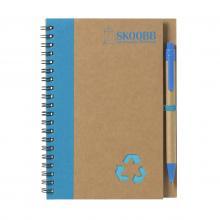Notitieboekje   A5   Milieuvriendelijk   733642 Blauw