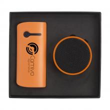 Powerbank | 4.000 mAh| Geschenkset | USB-stick
