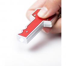 Sleutelhanger in sleutelvorm