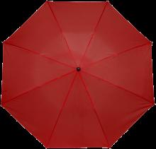Gekleurde paraplu | Handmatig | Ø 90 cm | 8034092S Rood