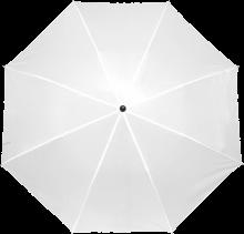 Gekleurde paraplu | Handmatig | Ø 90 cm | 8034092S Wit