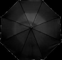 Gekleurde paraplu | Handmatig | Ø 90 cm | 8034092S Zwart