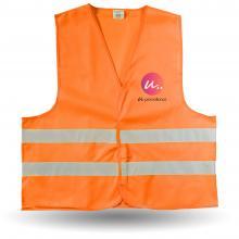 Veiligheidshesjes | Maat M XL en XXL | Oranje en geel