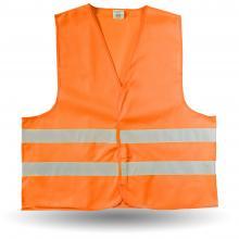 Veiligheidshesjes | Maat M XL en XXL | Oranje en geel | 8036541 Oranje