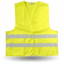 Veiligheidshesjes | Maat M XL en XXL | Oranje en geel | 8036541 Geel