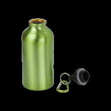 Sportfles met karabijnhaak | 400 ml | Gravering of opdruk | max141