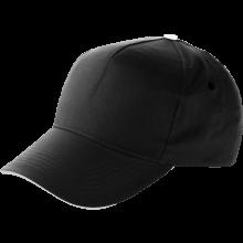 Cap | Katoen | Verstelbaar | Snel | 8039114 Zwart
