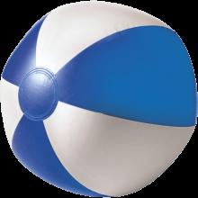 Strandbal | 26 cm | Witte vlakken  | 8039620 Blauw