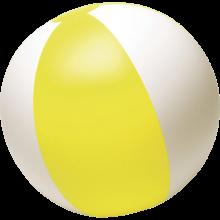 Strandbal | 26 cm | Witte vlakken  | 8039620 Geel