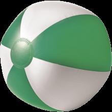 Strandbal | 26 cm | Witte vlakken  | 8039620 Groen
