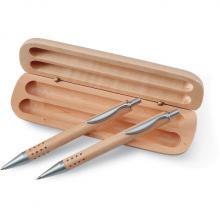 Parure stylo bois